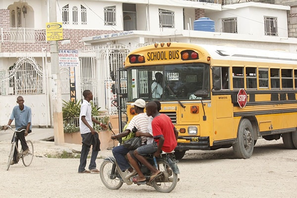 Tragical coach accident in Gonaives