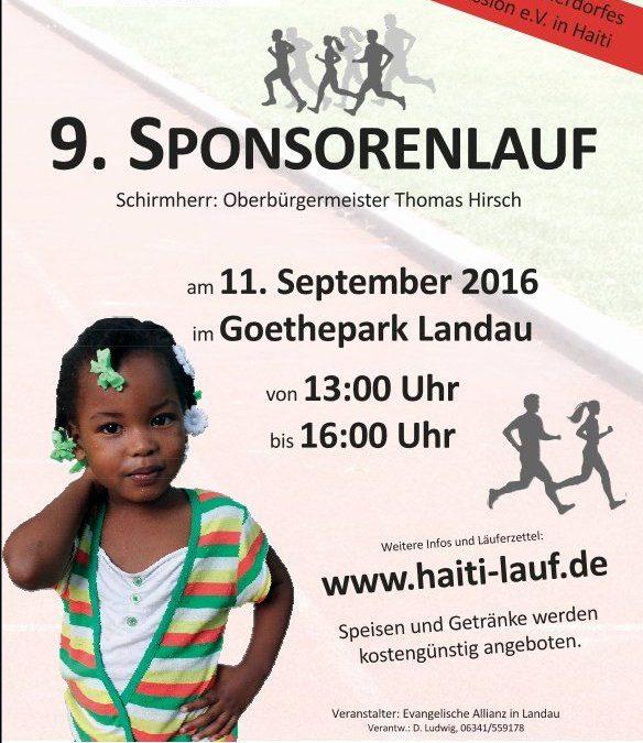 9. Sponsorenlauf zugunsten des Kinderdorfes