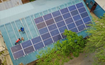 The solar panel equipment could be installed!